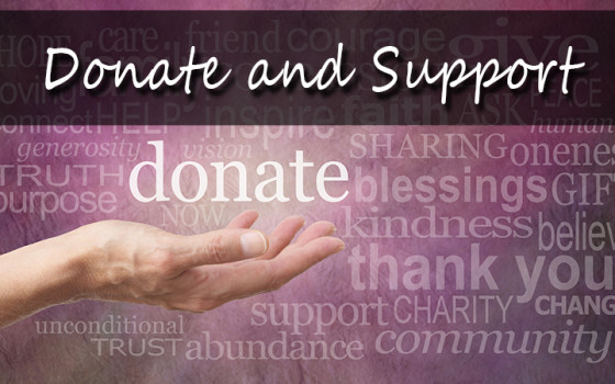 Donate & Support